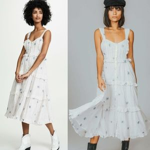 Free People Daisy Chain Midi Dress